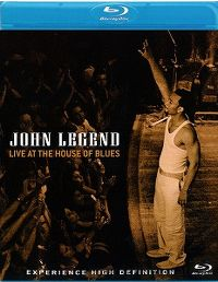 Cover John Legend - Live At The House Of Blues [DVD]